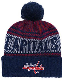embroidered knit hats Australia - WASHINGTON CAPITA ls Ice Hockey Knit Beanies Embroidery Adjustable Hat Embroidered Snapback Caps Orange White Black Stitched Hat One Size 02