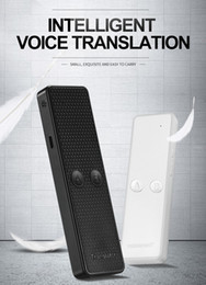 K6 Traduttore portatile multi lingua vocale, Tempo reale istantaneo bidirezionale 68 lingue di traduzione per viaggi Shopping Learning in Offerta
