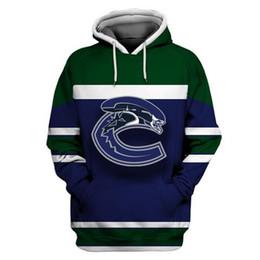 485c9613b NEW Vancouver Canucks Hoodie Jersey Mens 6 Brock Boeser 26 Antoine Roussel  31 Anders Nilsson 40 Elias Pettersson 53 Bo Horvat Hockey Jerseys