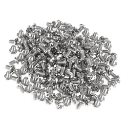 flat computer Canada - 100Pcs M3.5x6mm Flat Head Hard Drive HDD Screw For Computer PC Case