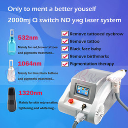 $enCountryForm.capitalKeyWord Australia - ND yag laser machine laser tattoo removal Black Doll Treatment Professional tattoo removal equipment CE approval with factory price