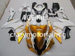 $enCountryForm.capitalKeyWord Australia - 3 gifts New Injection ABS Fairing kits 100% Fit for YAMAHA YZFR1 07-08 YZF R1 2007-2008 YZF1000 bodywork White Yellow AP10
