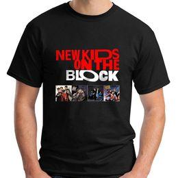 Black Blocks Canada - NKOTB New Kids on The Block Music Legend Short Sleeve Black Men's T-Shirt S-3XL Fashion Summer Paried T Shirts Top Tee