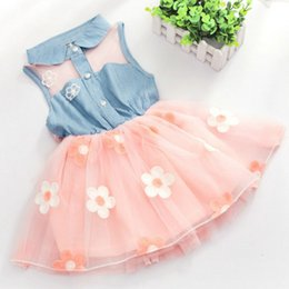 $enCountryForm.capitalKeyWord Australia - Girl Dress2018 Real Knee-length Sleeveless Bow Cute New Baby Dress Clothes Slip Infant Dresses For Princess Birthday Sale Hot