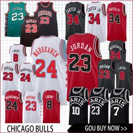 Bulls jerseys online shopping - Men Bulls Jersey MJ Markkanen LaVine basketball Jersey men fans clothes printed top sale