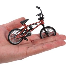 kids mini bicycle NZ - OCDAY Excellent Quality bmx toys fingerboard alloy Finger BMX Functional kids Bicycle Finger Bike mini-finger-bmx Set Bike Fans