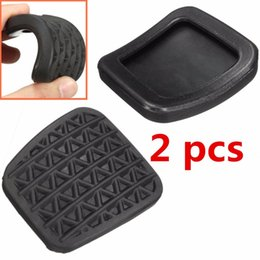 $enCountryForm.capitalKeyWord Australia - 2Pcs Auto Car Rubber Brake Clutch Black Skid-proof Pedal Cover Pad Covers For Vauxhall Astra G H Zafira A B Non-slip 560775 9049