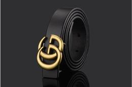 Black Wide Girls Belt Australia - 2018 New brand designer kids Genuine Leather belts children boys girls Letter buckle Leisure waist strap waistband children Belts wide 2.3cm