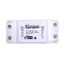 $enCountryForm.capitalKeyWord UK - Itead Sonoff Basic Wifi Switch DIY Wireless Remote Domotica Light Smart Home Automation Relay Module Controller Work with Alexa