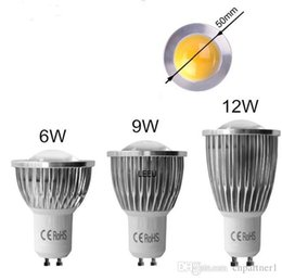 Dimmable Energy Saving Bulbs Australia - Best Quality LED COB Spot Light MR16 GU5.3 GU10 B22 E14 E27 Dimmable 6W 9W 12W AC 110V -240V LED Spotlights Energy Saving Bulbs CE RoHS