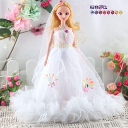 Used Toys Wholesale Australia - 35 Confused A Doll Pendant Gift Toys Prosperous Trillion Barbie Doll Lace Skirt Vehicle Goods Of Furniture For Display Rather Than For Use