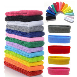 $enCountryForm.capitalKeyWord Canada - Candy Color Sports Headband Gym Yoga Slimming Elastic Hair Head Band Stretch Colorful Unisex Hairband Sweatband