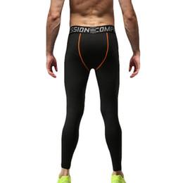 Men Wearing Leggings Australia - 2019 4 Colors Solid Compression Pants Men Sport Wear Jogging Pants Men Sports Leggings Training Gym Man Running Tights Hot