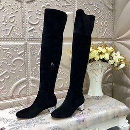 Bling Crystal Botines Over Knee Bota Feminina Round Toe Boots Women Sweet  Zapatos De Mujer New Botas Mujer Fashion Shoes Women knee high crystal boots  on ... a5be1245a50b