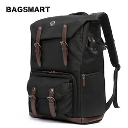 $enCountryForm.capitalKeyWord UK - fashion backpacks bags BAGSMART for DSLR Waterproof Backpack with Rain Cover Backpack for Laptop Camera Lens Travel Camera Bags