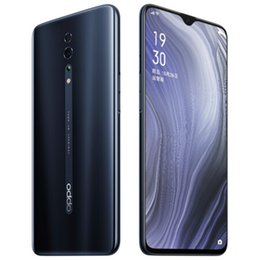 """Wholesale Original OPPO Reno Z 4G LTE Cell Phone 8GB RAM 128GB ROM Helio P90 Octa Core 48.0MP AI NFC 2.5D Glass Body Android 6.4"""" Full Screen Fingerprint ID Face Smart Mobile Phone"""