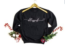 Wholesale leaf sweatshirt online – oversize blessed leaf sweatshirt for women Thanksgiving sweats with Blessed outfits Fall Unisex sweats cotton Printed tops