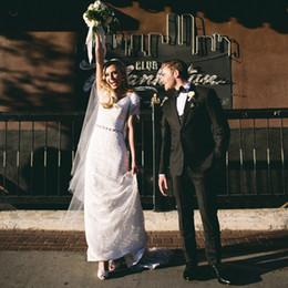Slim Fit 48 Size Suit Australia - Cheap Black Slim Fit Wedding Suits Sets Notched Lapel Two Buttons Wedding Tuxedos High Quality Best Men's Prom Blazer and Pants