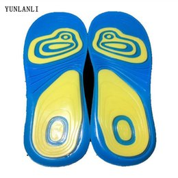 $enCountryForm.capitalKeyWord Australia - Silicone Gel Insoles for feet 1Pair Insoles for shoes sole orthopedic pad Massaging Shoe Absorption arch support