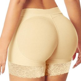 Wholesale booty enhancer underwear resale online - Butt Lifter Panties Women Sexy Butt Booty Lifter Shaper waist Butt Hip Enhancer Fake Ass Shapewear Briefs Push Underwear faja T191116