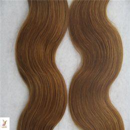 $enCountryForm.capitalKeyWord Australia - Darkest Brown Color Indian Skin Weft Hair Extensions 100% Human Hair Weave 10-30 Inchs Body Wave Hair