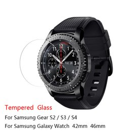 $enCountryForm.capitalKeyWord Australia - For Samsung Gear S3 S4 S2 Classic Tempered Glass 9H 2.5D Premium Screen Protector Film For Samsung Galaxy Watch 42mm 46mm