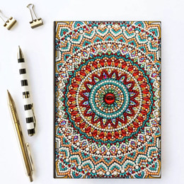 $enCountryForm.capitalKeyWord Australia - Zooya Diy 5d Special Diamond Painting Notebook Diamond Embroidery Notebook Diamond Mosaic A5 Diary Book Picture Gift NB30