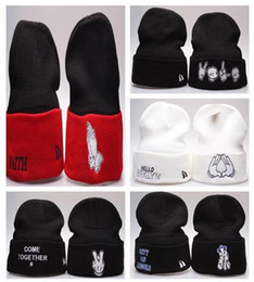Wholesale ski usa online – design MEN Ty Beanies COURAGE Rare left side USA flag Custom Knit Beanie Cap Left Side Garfield Pom Pom Beanie Left Side Beanies Hot Christmas Sale