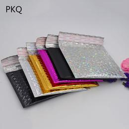 10pcs 15 * 13cm CD / CVD Emballage Expédition Bulles D'annonces Enveloppes En Papier Rembourré Papier Cadeau Sac Bulles Enveloppes D'envoi Sac en Solde