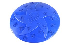Toy Frisbee Australia - 10PCS Frisbee for Dog Rubber Dog Training Frisbee Durable Rubber Flying Disc Dog Toy 4 Colors 2 Patterns