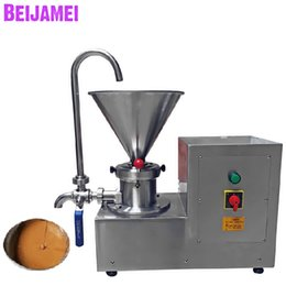Sauce machineS online shopping - BEIJAMEI New Commercial Peanut Butter Maker Machine Electric Nut Butter Grinder Machine Making Sesame Sauce Price