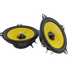 $enCountryForm.capitalKeyWord NZ - 2PCS 4 Inch Vehicle Auto Loudspeaker Paired Automobile Automotive Car HiFi Speaker Full Range Bubble Gum Edge Speakers