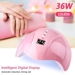$enCountryForm.capitalKeyWord Australia - 36W Nail Lamp for All Gels Polish Nails Dryer for Nail Ice Lamp UV Led With Timer Smart Touch Button Light