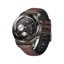 Smart Watches Nfc Australia - Original Huawei Watch 2 Pro Smart Watch Support LTE 4G Phone Call GPS NFC Heart Rate Monitor eSIM Wristwatch For Android iPhone iOS Phone