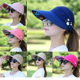 $enCountryForm.capitalKeyWord Australia - 12 style Women's Summer Hats Foldable Sun Hat UV Protection Visor Floppy Cap Beach Hat Outdoor dc365