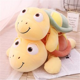 hot beds Australia - 20170710 Hot Sale Tortoise Plush Toy Girl Doll Turtle Doll Pillow Cute Bed Sleeping Girl Meng