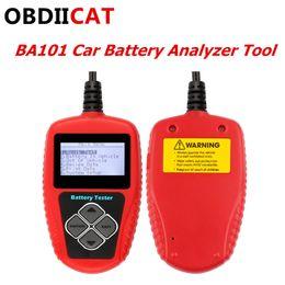 Tool Digital Canada - 2019 New Arrival Ancel BA101 BA 101 Car Battery Tester 12V Digital Analyzer 2000CCA 220AHBAD Cell Test Car Tool Multi-language
