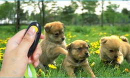 sports clicker Canada - Pet Dog Training Adjustable Sound Dog Whistle Key Chain Dog Clicker Flute Stop Barking Pet Training Repeller Train