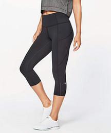 Donne Yoga Abiti Donna Sport Capri Leggings Estate Pantaloni corti Esercizio Fitness Abbigliamento da donna Brand Running Leggiungs