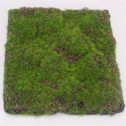 $enCountryForm.capitalKeyWord UK - 30CMX30CM Simulation Moss Turf Lawn Wall Green Fake Plant DIY Artificial Grass Board Wedding Home Hotel Background Shop Window Decoration