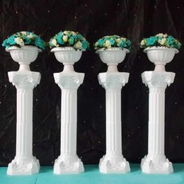 $enCountryForm.capitalKeyWord UK - Free Shipping 39 inch Roman Road Lead Rome Plastic Column Style With Flower And Flower Pot For Wedding Decoration Mall Opened Props