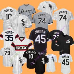 24666822ecf White sox baseball online shopping - Chicago Eloy Jimenez Jersey Yoan  Moncada Michael Kopech White Sox
