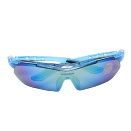 Chinese  DSGS ROBESBON Professional Cycling Eyewear UV400 Cycling Glasses Bike Bicycle Glasses Sunglasses 2 Lenses manufacturers