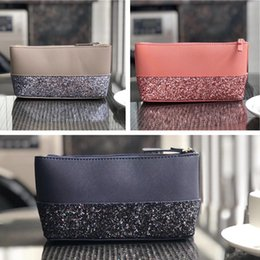 Handbag wristlet online shopping - Luxury Designer Brand Women Wallets Bags Handbags Purses Women KS PU Sequins Wallet Wristlet Zipper Purse Outdoor Card Bags C61503