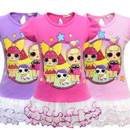 4f9c707a896b T shirt Short Skirt Set New Cartoon Girls Short sleeve Stage Suit Party  Dress Summer Children s Wear Kids Outwear Top Girl s Clothing