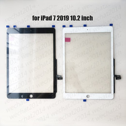 Wholesale 10PCS Touch Screen Glass Panel with Digitizer for iPad 7 2019 7th A2197 A2200 A2198 free DHL