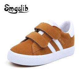 $enCountryForm.capitalKeyWord Australia - Children Sneaker Kids Shoes Boys Sport Trainers Shoes Casual Baby School Flat Leather Sneaker 2018 Autumn Girls Toddler Shoes Y19061906