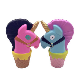 China Squishy llama horse 15cm Slow Rising Soft Oversize Phone Squeeze toys Pendant Anti Stress Kid Cartoon Toy Decompression Toy cheap fantasy pendants suppliers