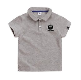 baby boy polo Australia - New 2019 High Quality New Hot Baby Boys Polo Shirt Children 'S Clothing Summer Clothes Baby Kids Child Brand Cotton Short Polo Shirt
