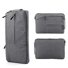 12 tablet pc Canada - 20pcs Laptop Bag For Macbook Air Pro Retina 11 12 13 14 15 15.6 inch Laptop Sleeve Case PC Tablet Case Cover for Xiaomi Air